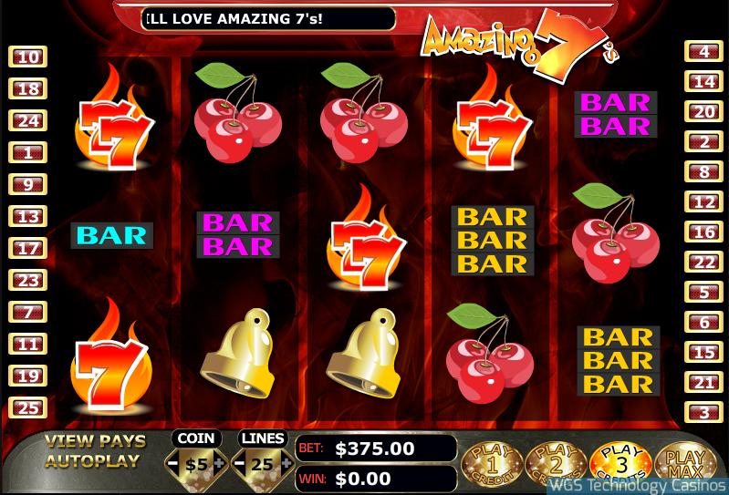 Amazing7's Slot