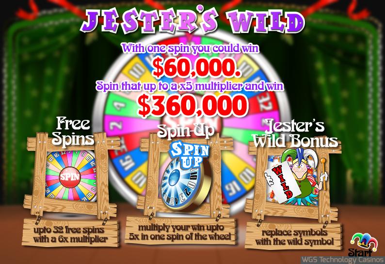 Jesters Wild  Slot