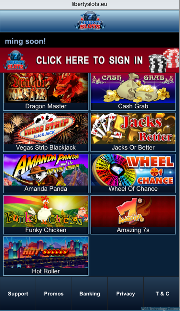 WGS Mobile Games Casino Software