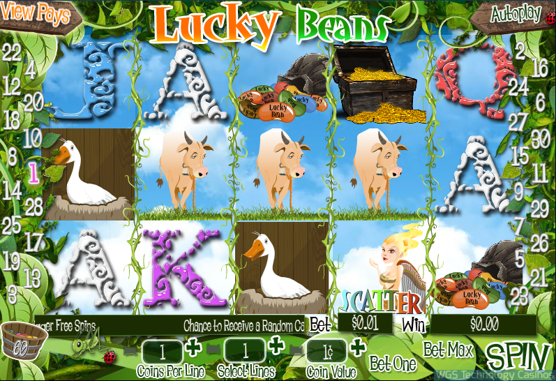 Lucky Beans Slot WGS Technology Casino Software
