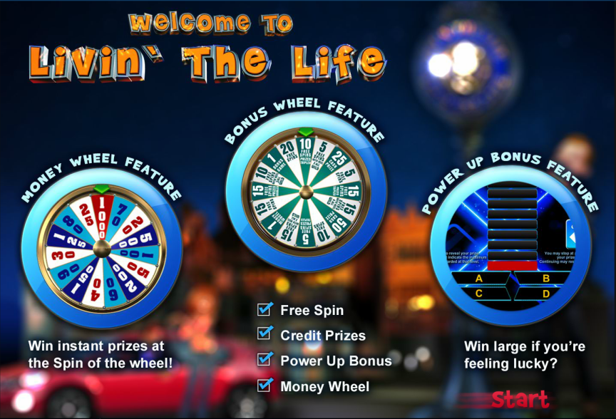 Livin The Life Slot Features