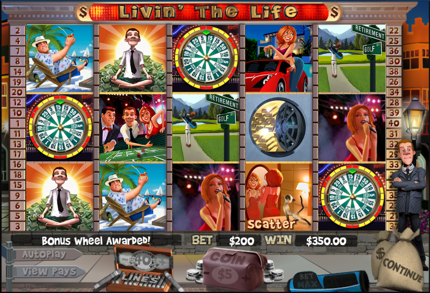 Livin The Life Casino Game