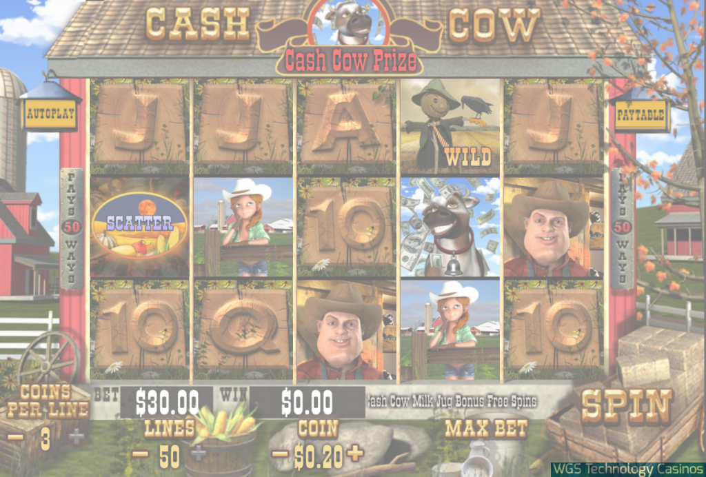 Cash Cow Casino Game