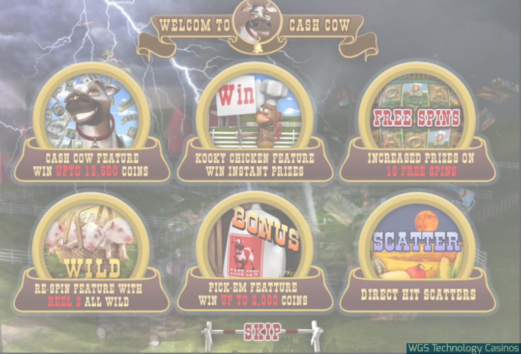 Slot Game Cash Cow